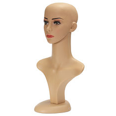 Female Mannequin Head Model Assembly Wig Hat Jewelry Show Mold (1033951) #Banggood