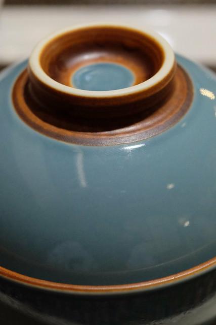 フカヒレとキヌガサ茸の蒸しスープ