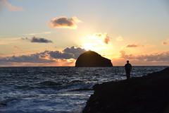 Gull Rock Sunset 2. Nikon D3100. DSC_0387.