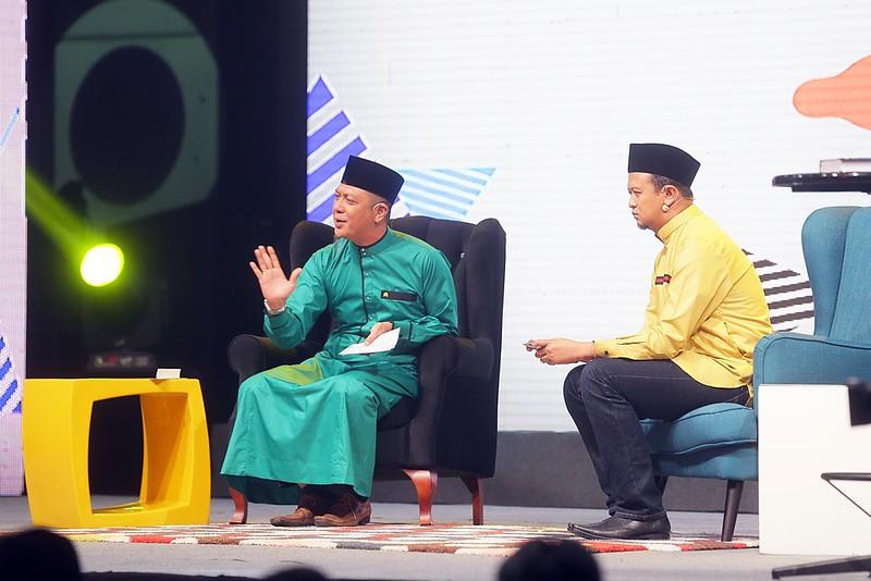 Syamsul Debat dan Syamsul Ghau Ghau dlm rancangan Duo Syamsul1