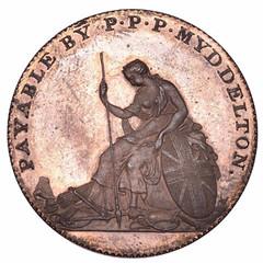 Mydleton token 1796 reverse