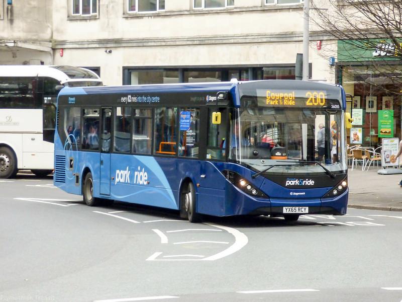 Stagecoach Devon 26035 YX65RCY