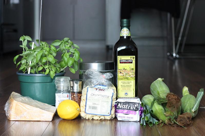 corn pasta ingredients