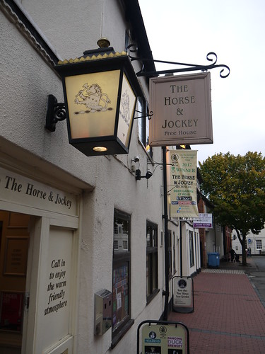 Landlord at the Horse and Jockey, Lichfield