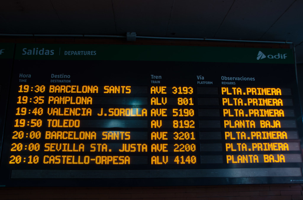 Spain Train Travel: Learn About Train Routes In Spain - Seville ...