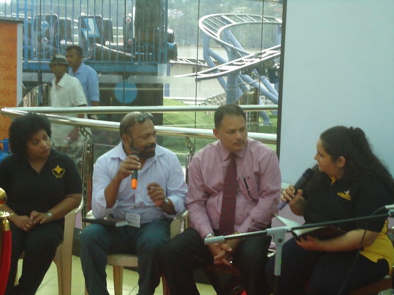 Promoting the concept of social enterprise in partnership with Good Market in Kandy