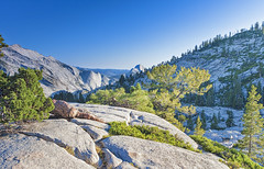 Incredible Mountain Rock Formations In the World Famous Yosemite National Park in California, United States