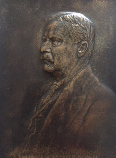 Theodore Roosevelt plaque by Victor David Brenner