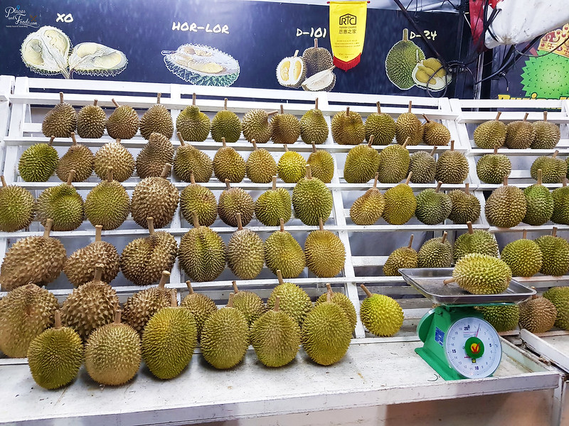 durian king stall
