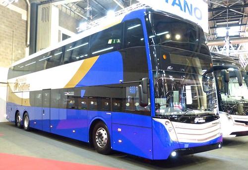 'Coach & Bus UK17' 'Translink Goldline' Scania DC13 115SCR / Caetano Invictus  on 'Dennis Basford's railsroadsrunways.blogspot.co.uk'