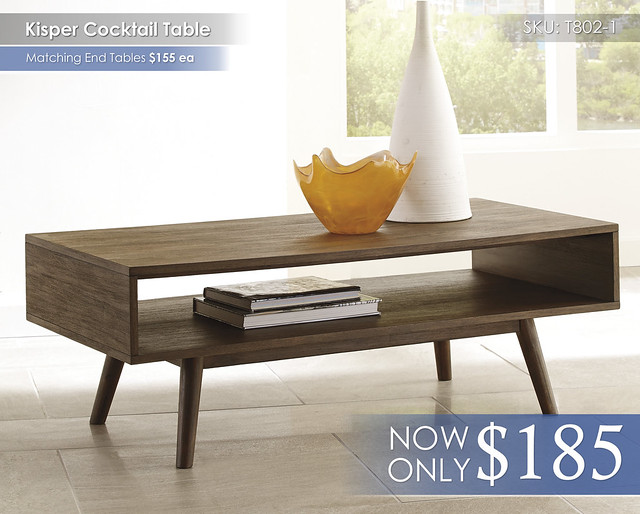 Kisper Cocktail Table T802-1
