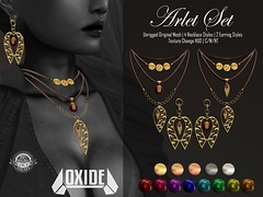 OXIDE Arlet Set (Necklaces + Earrings)