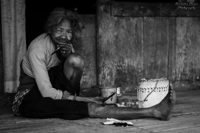 Indonesia   Woman in Luba Village