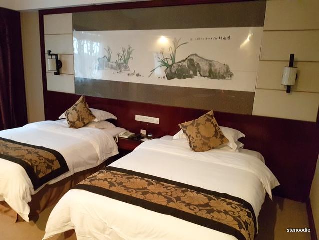 Fengting International Hotel beds