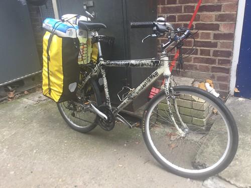 Stuff I carry on my Bike 17-10-07