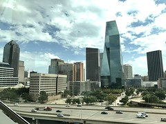 Downtown Dallas from Perot Museum