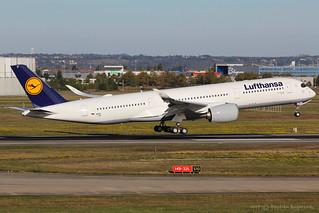 F-WZNY / D-AIXF - Airbus A350-941 - Lufthansa - CN 146