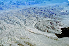 Aerial view of the San Andreas Fault, Indio Hills, Riverside County, California