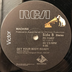 MACHINE:THERE BUT FOR THE GRACE OF GOD GO I(LABEL SIDE-B)
