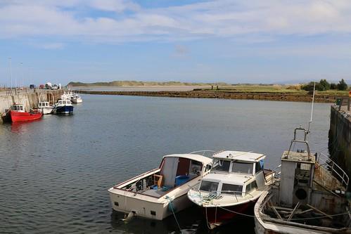 25th September 2017. Fishing Boats at Killala, County Mayo, Ireland.