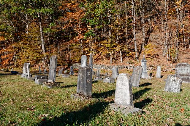 Lengthening Shadows in the Graveyard