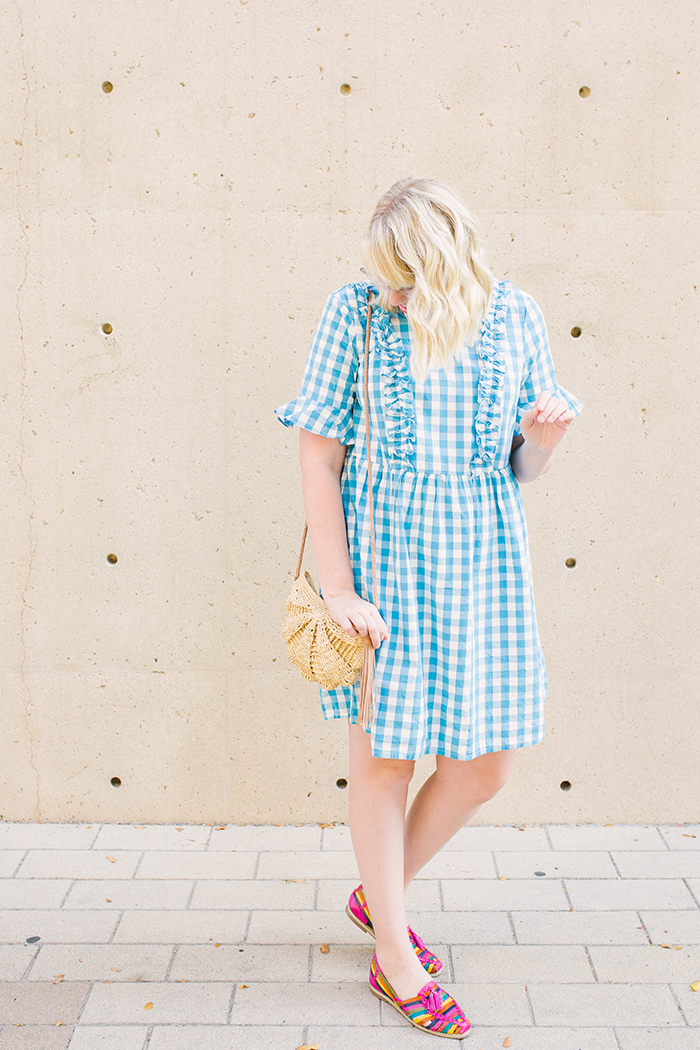 austin fashion blogger writes like a girl asos gingham dress8
