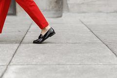When doubt, wear red ❤️