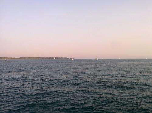 On the pier (6) #toronto #ontarioplace #pier #lakeontario #torontoislands #hanlanspoint #boats #latergram
