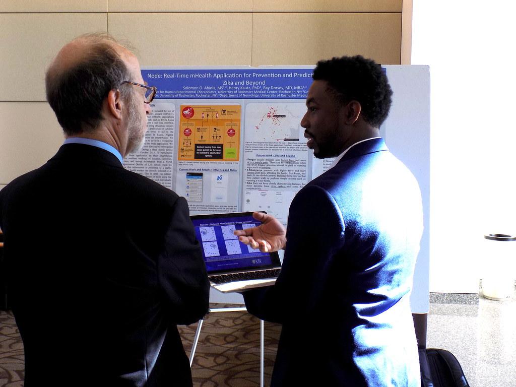 Solomon Abiola explains his research