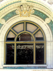 National Theater detail, Detroit