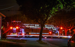 alameda fire truck 16 responding to a house fire