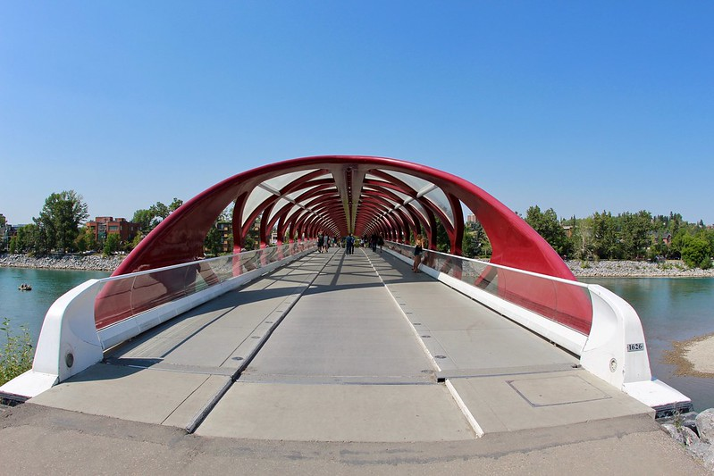 Peace Bridge Walkway