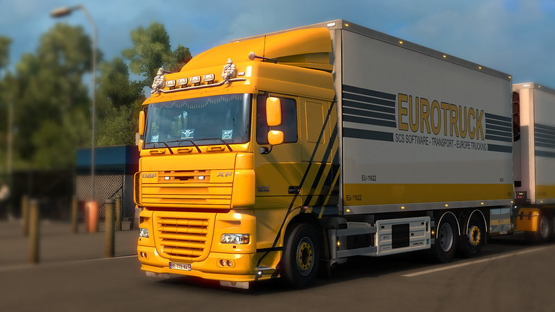 THE DAF XF by 50k [1 17-1 35+] [v4 3 - 5 6 2019] - SCS Software