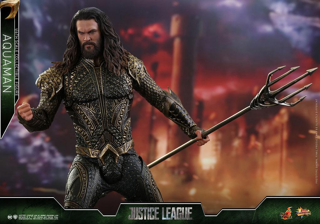 Hot Toys - MMS447 - 《正義聯盟》1/6比例「水行俠」亞瑟·庫瑞 Justice League Aquaman