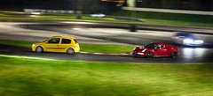 Renault Clio Sport 172 Phase 1 getting chased by an Alfa Romeo 4C