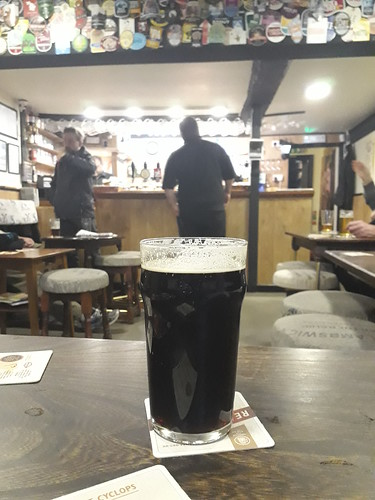 Three Tuns Stout at Worcester's Bull Baiters Inn