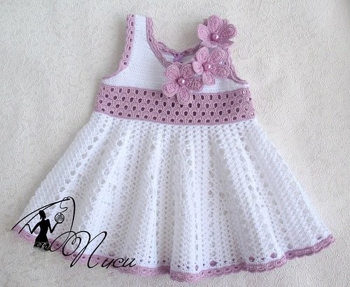 ❣☺ What a beautiful dress I loved this simple and charming pattern of crochet at the same time see only step by step free. good night friends