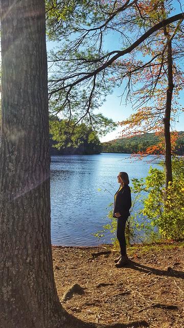 At Houghton's Pond, Milton, Massachusetts