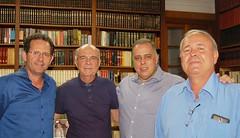 23 10 2017 Marco Antônio, ex pref de Caratinga, Pref Ipanema Dr Walter e José Dias