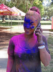 Blue in the Face, Holi Festival