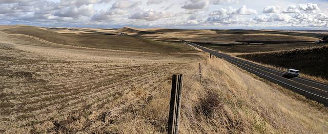 GSA 2017 Palouse Hills field trip day 3 panorama