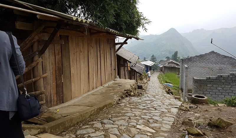 Sapa, Cat Cat Village - path