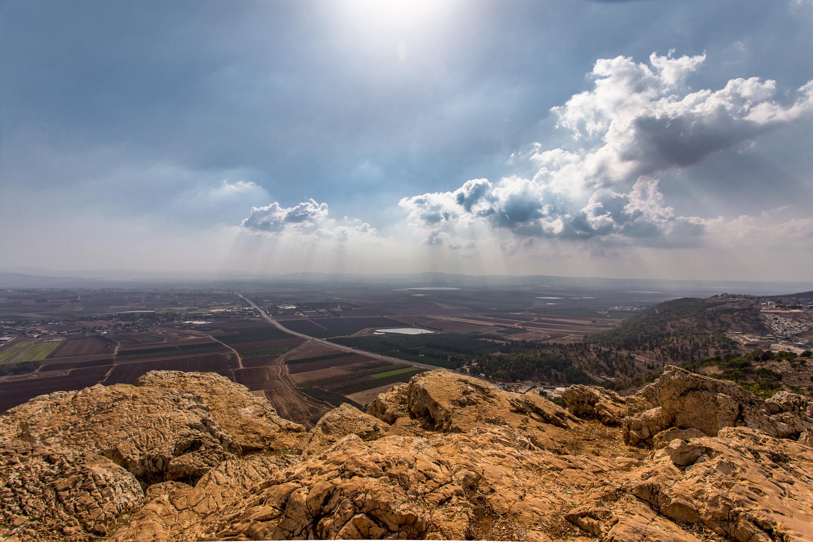 Elevation of Jezreel Valley, Israel - Topographic Map ...