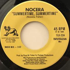 NOCERA:SUMMERTIME, SUMMERTIME(LABEL SIDE-A)
