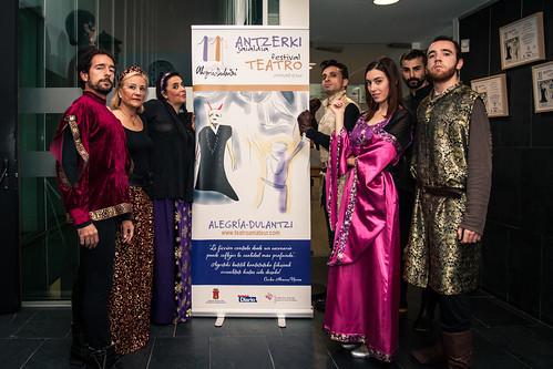 XI Festival de Teatro Amateur de Alegría-Dulantzi. Teatre del Talión