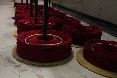 Visite de la filature Fonty