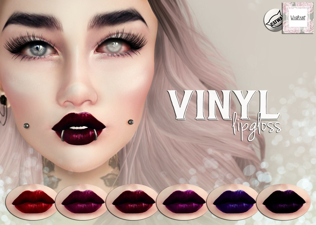 WarPaint* @ AnyBODY - Vinyl lipgloss - TeleportHub.com Live!