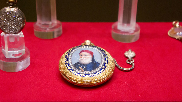Ibrahim Pasha's Golden Pocket Watch at Egypt's Royal Jewelry Museum