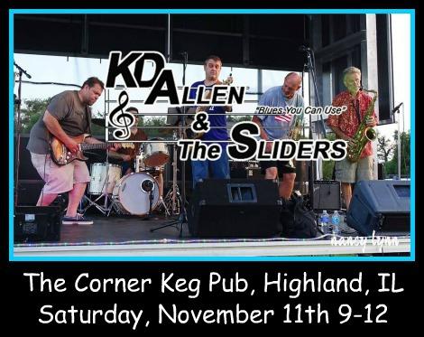 KD Allen & The Sliders 11-11-17