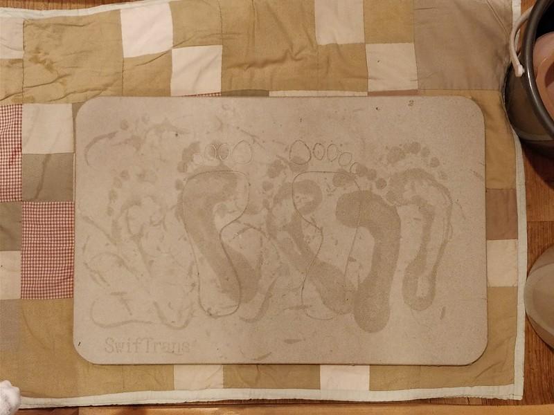 DIY 珪藻土とすのこを合体 (9)